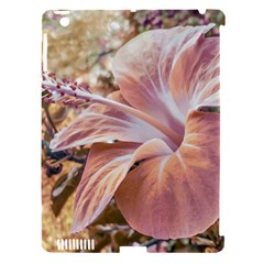 Fantasy Colors Hibiscus Flower Digital Photography Apple Ipad 3/4 Hardshell Case (compatible With Smart Cover) by dflcprints