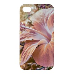 Fantasy Colors Hibiscus Flower Digital Photography Apple Iphone 4/4s Premium Hardshell Case by dflcprints