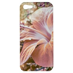 Fantasy Colors Hibiscus Flower Digital Photography Apple Iphone 5 Hardshell Case by dflcprints
