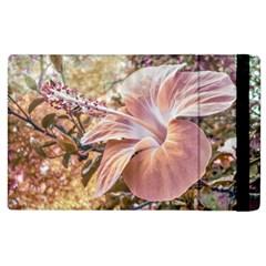 Fantasy Colors Hibiscus Flower Digital Photography Apple Ipad 3/4 Flip Case by dflcprints