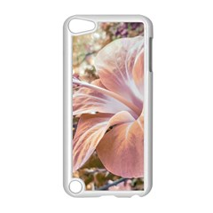 Fantasy Colors Hibiscus Flower Digital Photography Apple Ipod Touch 5 Case (white) by dflcprints