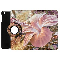 Fantasy Colors Hibiscus Flower Digital Photography Apple Ipad Mini Flip 360 Case by dflcprints
