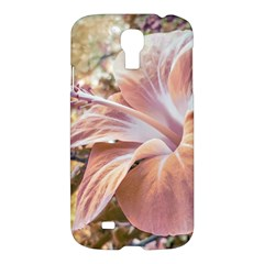 Fantasy Colors Hibiscus Flower Digital Photography Samsung Galaxy S4 I9500/i9505 Hardshell Case by dflcprints