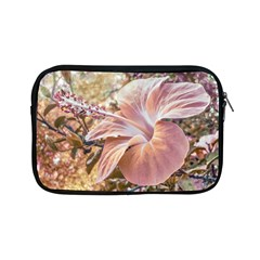 Fantasy Colors Hibiscus Flower Digital Photography Apple Ipad Mini Zippered Sleeve by dflcprints