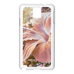 Fantasy Colors Hibiscus Flower Digital Photography Samsung Galaxy Note 3 N9005 Case (white) by dflcprints