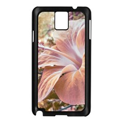 Fantasy Colors Hibiscus Flower Digital Photography Samsung Galaxy Note 3 N9005 Case (black) by dflcprints