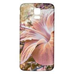 Fantasy Colors Hibiscus Flower Digital Photography Samsung Galaxy S5 Back Case (white) by dflcprints