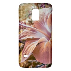 Fantasy Colors Hibiscus Flower Digital Photography Samsung Galaxy S5 Mini Hardshell Case  by dflcprints