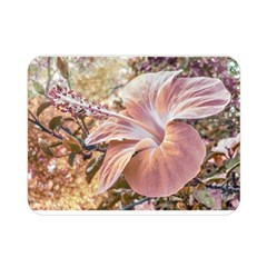 Fantasy Colors Hibiscus Flower Digital Photography Double Sided Flano Blanket (mini) by dflcprints