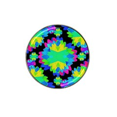 Multicolored Floral Print Geometric Modern Pattern Golf Ball Marker 10 Pack (for Hat Clip) by dflcprints