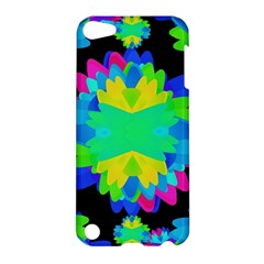 Multicolored Floral Print Geometric Modern Pattern Apple Ipod Touch 5 Hardshell Case by dflcprints
