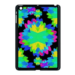 Multicolored Floral Print Geometric Modern Pattern Apple Ipad Mini Case (black) by dflcprints