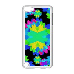 Multicolored Floral Print Geometric Modern Pattern Apple Ipod Touch 5 Case (white) by dflcprints