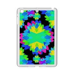 Multicolored Floral Print Geometric Modern Pattern Apple Ipad Mini 2 Case (white) by dflcprints
