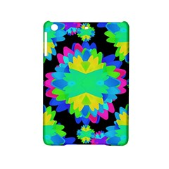 Multicolored Floral Print Geometric Modern Pattern Apple Ipad Mini 2 Hardshell Case by dflcprints
