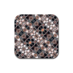 Modern Arabesque Pattern Print Drink Coaster (square) by dflcprints