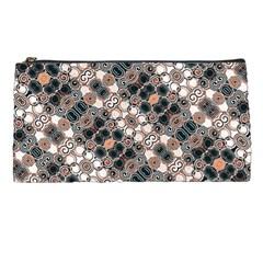 Modern Arabesque Pattern Print Pencil Case by dflcprints