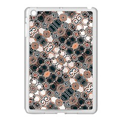 Modern Arabesque Pattern Print Apple Ipad Mini Case (white) by dflcprints