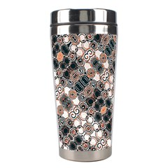 Modern Arabesque Pattern Print Stainless Steel Travel Tumbler by dflcprints
