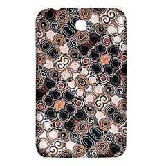 Modern Arabesque Pattern Print Samsung Galaxy Tab 3 (7 ) P3200 Hardshell Case  by dflcprints