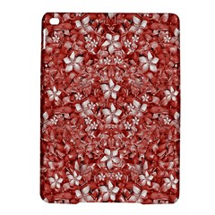 Flowers Pattern Collage In Coral An White Colors Apple Ipad Air 2 Hardshell Case by dflcprints