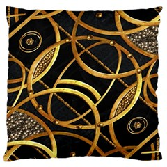 Futuristic Ornament Decorative Print Large Cushion Case (single Sided)  by dflcprints