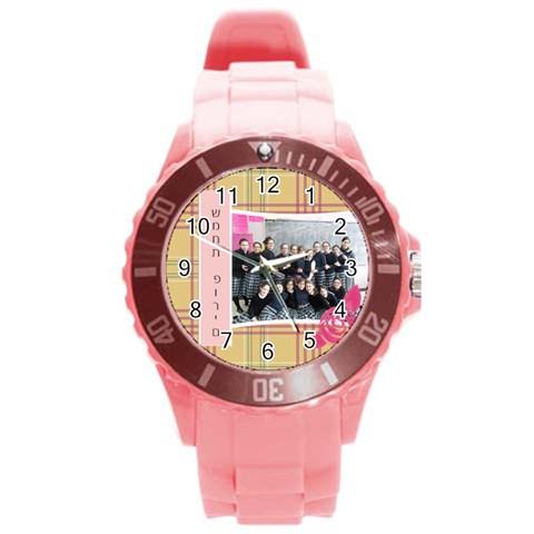 By Elyon   Round Plastic Sport Watch (l)   B6u8h7z8aqj1   Www Artscow Com Front