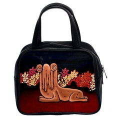 Cute Creature Fantasy Illustration Classic Handbag (two Sides) by dflcprints