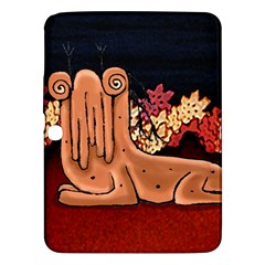 Cute Creature Fantasy Illustration Samsung Galaxy Tab 3 (10 1 ) P5200 Hardshell Case  by dflcprints