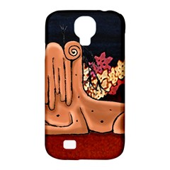 Cute Creature Fantasy Illustration Samsung Galaxy S4 Classic Hardshell Case (pc+silicone) by dflcprints