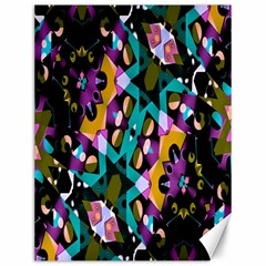 Digital Futuristic Geometric Pattern Canvas 12  X 16  (unframed) by dflcprints