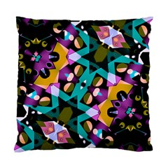 Digital Futuristic Geometric Pattern Cushion Case (single Sided)  by dflcprints