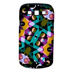 Digital Futuristic Geometric Pattern Samsung Galaxy S Iii Classic Hardshell Case (pc+silicone) by dflcprints
