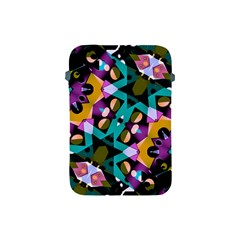 Digital Futuristic Geometric Pattern Apple Ipad Mini Protective Sleeve by dflcprints