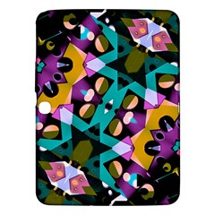 Digital Futuristic Geometric Pattern Samsung Galaxy Tab 3 (10 1 ) P5200 Hardshell Case  by dflcprints