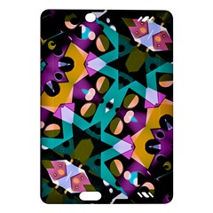 Digital Futuristic Geometric Pattern Kindle Fire Hd (2013) Hardshell Case by dflcprints