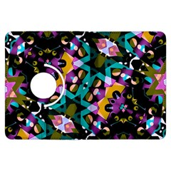 Digital Futuristic Geometric Pattern Kindle Fire Hdx Flip 360 Case by dflcprints