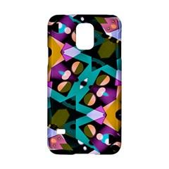 Digital Futuristic Geometric Pattern Samsung Galaxy S5 Hardshell Case  by dflcprints