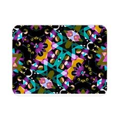 Digital Futuristic Geometric Pattern Double Sided Flano Blanket (mini)