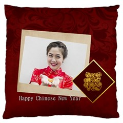 New Year By Ch   Large Flano Cushion Case (two Sides)   2z117t9k7r1t   Www Artscow Com Back
