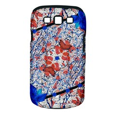 Floral Pattern Digital Collage Samsung Galaxy S Iii Classic Hardshell Case (pc+silicone) by dflcprints