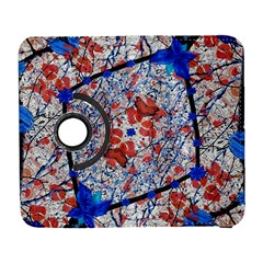 Floral Pattern Digital Collage Samsung Galaxy S  Iii Flip 360 Case by dflcprints