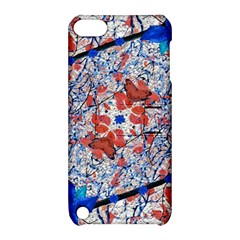 Floral Pattern Digital Collage Apple Ipod Touch 5 Hardshell Case With Stand by dflcprints