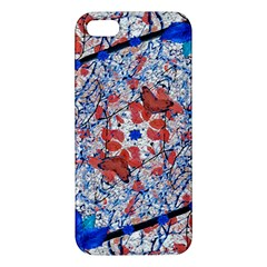 Floral Pattern Digital Collage Apple Iphone 5 Premium Hardshell Case by dflcprints