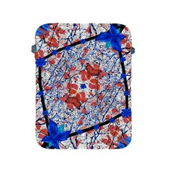 Floral Pattern Digital Collage Apple Ipad Protective Sleeve by dflcprints