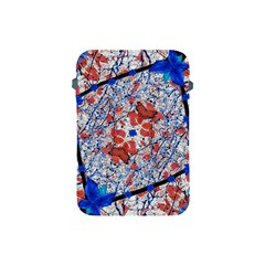 Floral Pattern Digital Collage Apple Ipad Mini Protective Sleeve by dflcprints