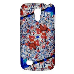 Floral Pattern Digital Collage Samsung Galaxy S4 Mini (gt I9190) Hardshell Case  by dflcprints