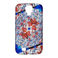 Floral Pattern Digital Collage Samsung Galaxy S4 Classic Hardshell Case (pc+silicone) by dflcprints