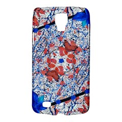 Floral Pattern Digital Collage Samsung Galaxy S4 Active (i9295) Hardshell Case by dflcprints