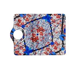 Floral Pattern Digital Collage Kindle Fire Hd (2013) Flip 360 Case by dflcprints